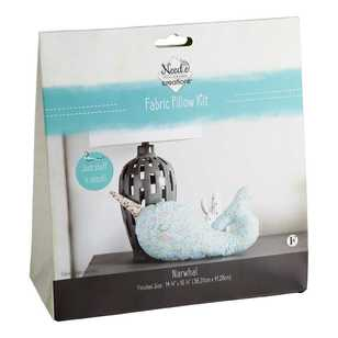 Needle Creations Narwhal Pillow Kit