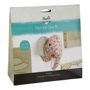 Needle Creations Elephant Wall Decor Kit
