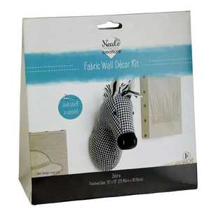 Needle Creations Zebra Wall Decor Kit