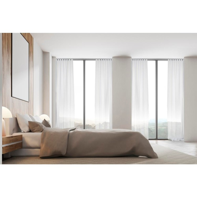 Hotel Collection Luxe S Fold Sheer Curtain