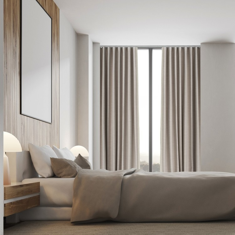 Hotel Collection Luxe S Fold Blockout Curtain