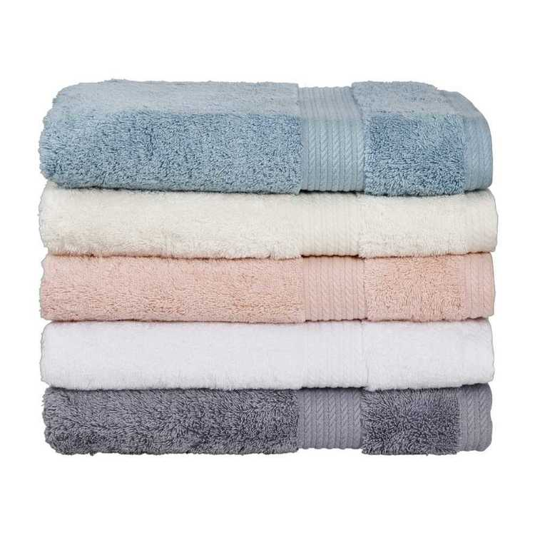 Luxury Living Plush Towel Collection