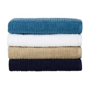 KOO Text Square Zero Twist Towel Collection