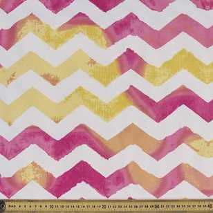 Chevron Weather Resistant Canvas Fabric