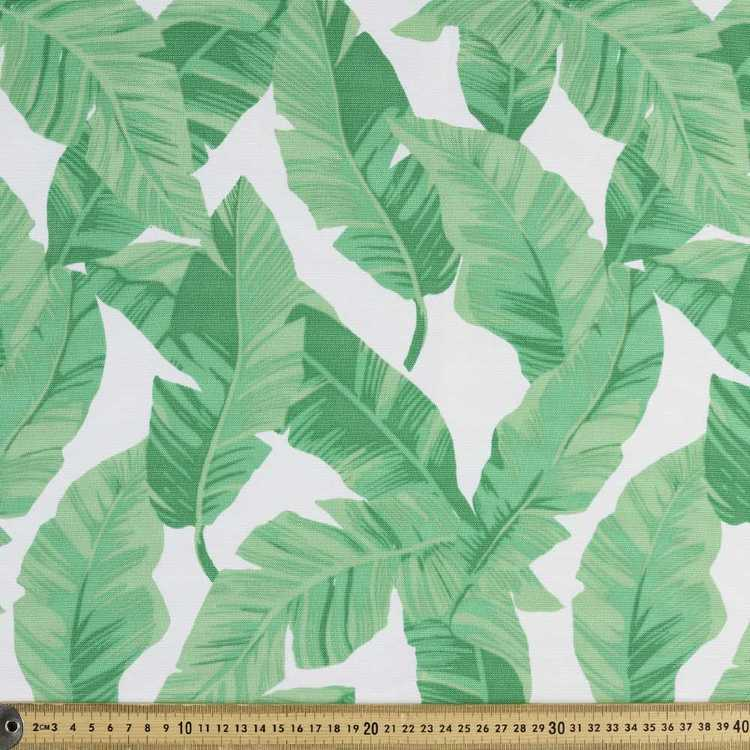 WP Printed Canvas Banana Leaf Fabric
