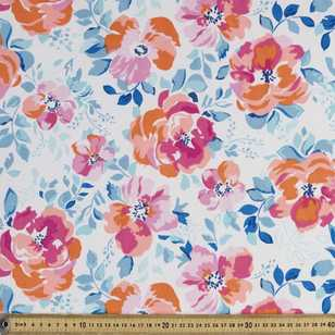 Weathercolour Floral Weather Resistant Canvas Fabric