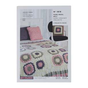 Spotlight Home Crochet Projects Leaflet #1819