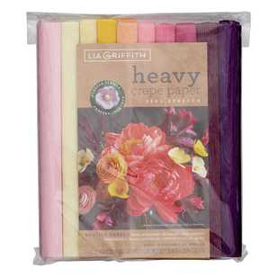 Lia Griffith English Garden Heavy Crepe Paper Pack