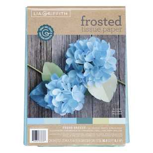 Lia Griffith Fresh Breeze Frosted Tissue Paper Pack