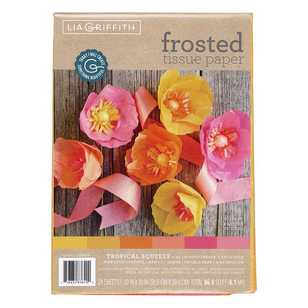 Lia Griffith Tropical Squeeze Frosted Tissue Paper Pack