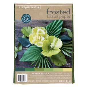 Lia Griffith Summer Meadow Frosted Tissue Paper Pack