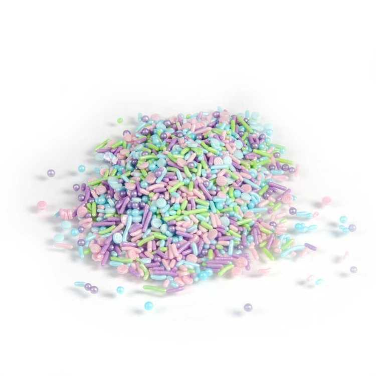 Over The Top Mermaid Sprinkles Mix Multicoloured Mermaid 70 g