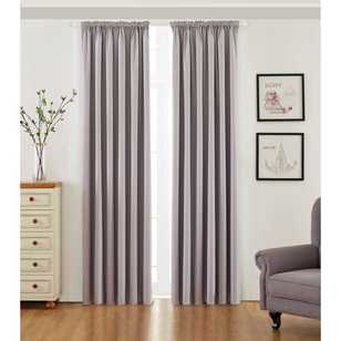 KOO Willow Pencil Pleat Curtains