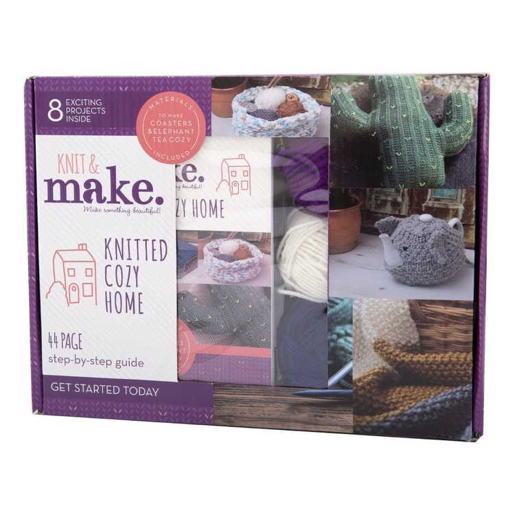 Knit & Make Knitted Cozy Home Kit