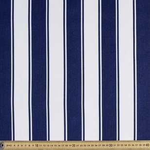 Stripe Cotton Canvas Fabric