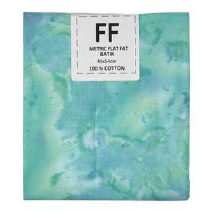 Tie Dye Cotton Flat Fat