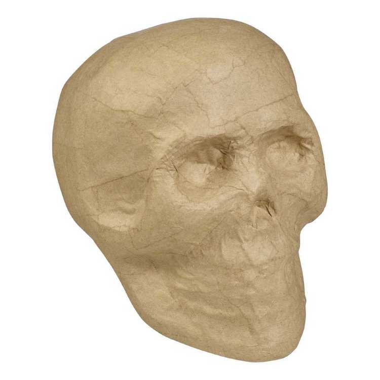 Craftsmart Paper Mache Skull