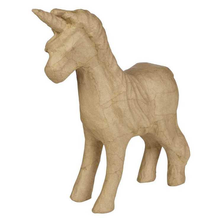 Craftsmart Paper Mache Stand Unicorn