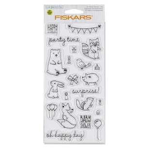 Fiskars Lia Griffith Woodland Party Stamps