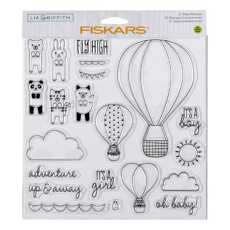 Fiskars Lia Griffith Oh Baby Stamps