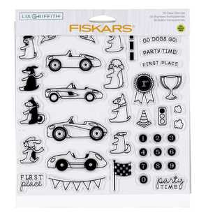 Fiskars Lia Griffith Party Time Stamps