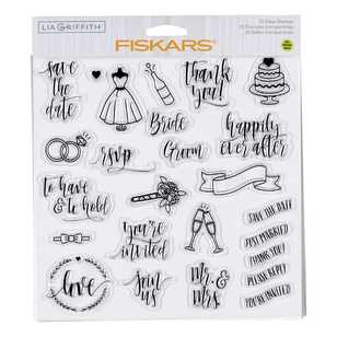 Fiskars Lia Griffith Wedding Day Stamps
