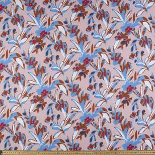 Lily Printed 144 cm Crepe Fabric
