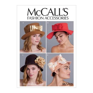 McCall's Pattern M7766 Dee Atkinson Misses' Hats