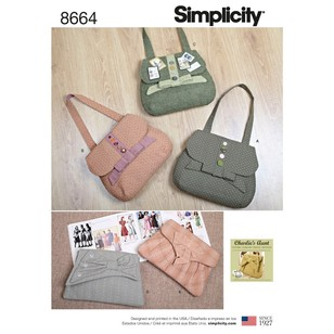 Simplicity Pattern 8664 Bags In Four Styles