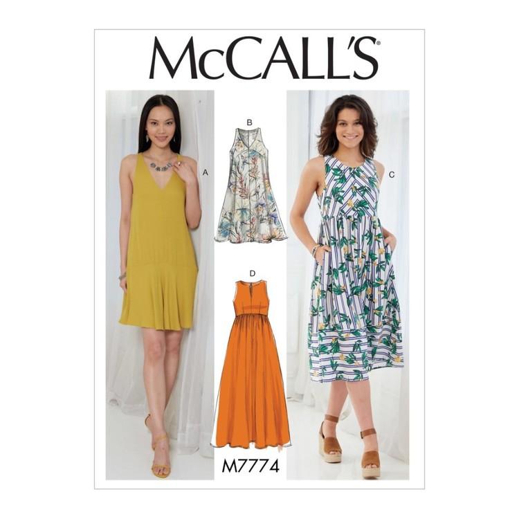 McCall's Pattern M7774 Misses' Dresses