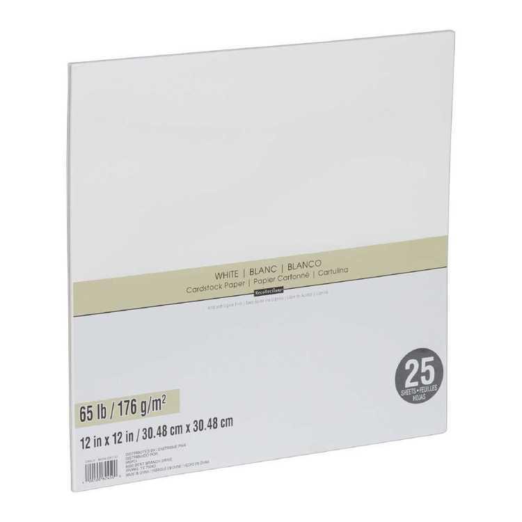 Cardstock Paper 25 Pack