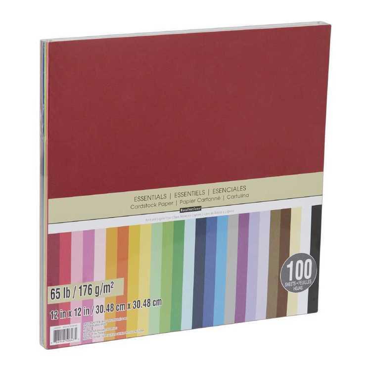 Cardstock Paper 100 Pack