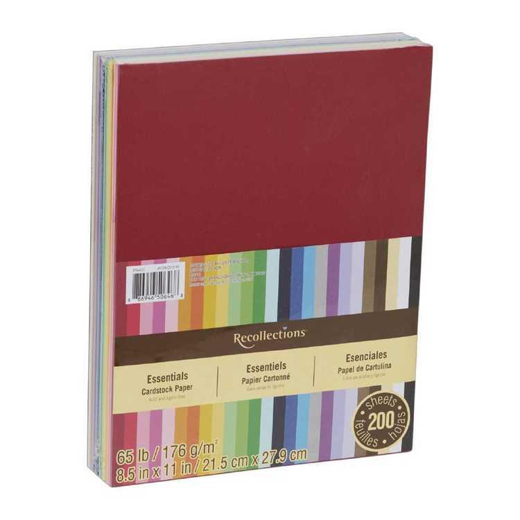 Cardstock Paper 200 Pack
