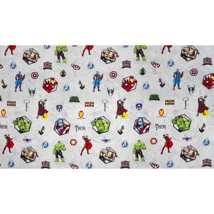 Marvel Avengers Spaceship Curtain Fabric