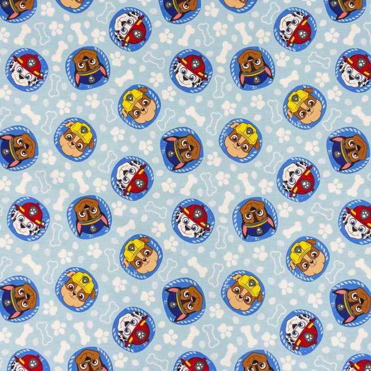 Paw Patrol Paw Patrol Pawsome Curtain Fabric
