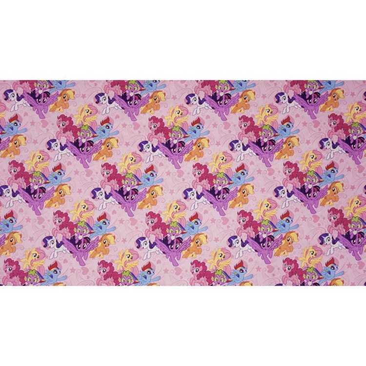 Hasbro My Little Pony Team Curtain Fabric