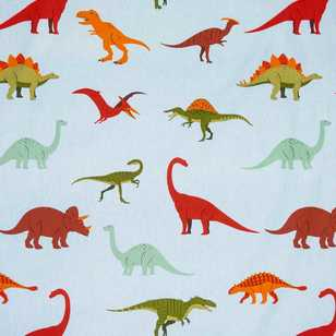 Dino Curtain Fabric