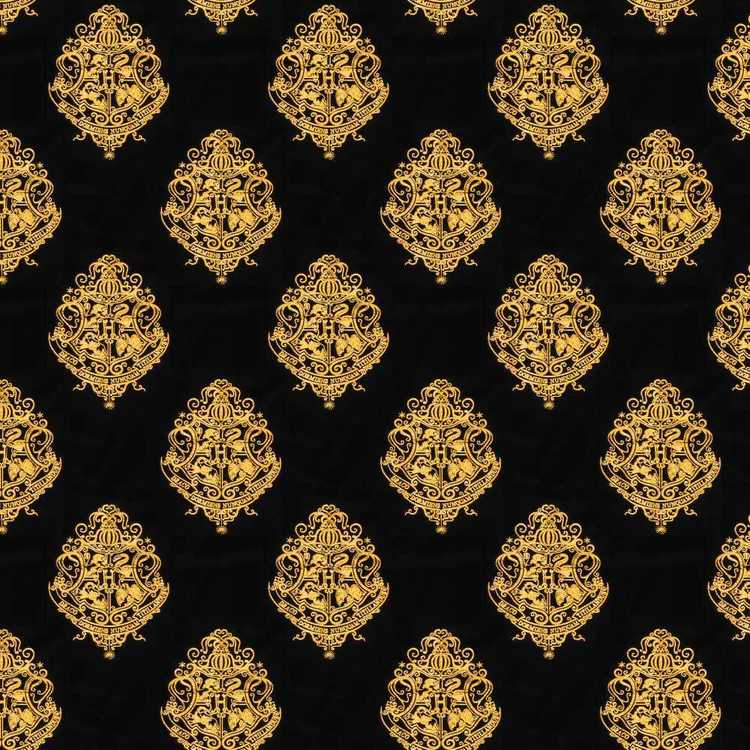 Harry Potter Hogwart Velvet Furnishing Fabric