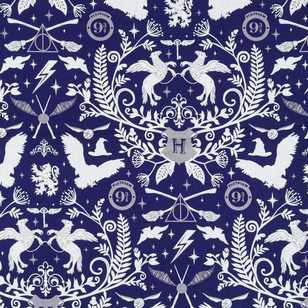 Harry Potter Toile Furnishing Fabric