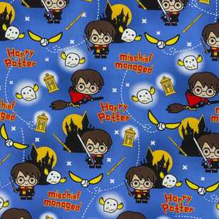 Harry Potter Mischief Managed Furnishing Fabric