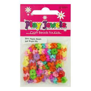 Play Jewels Chevron Plastic Beads Pack