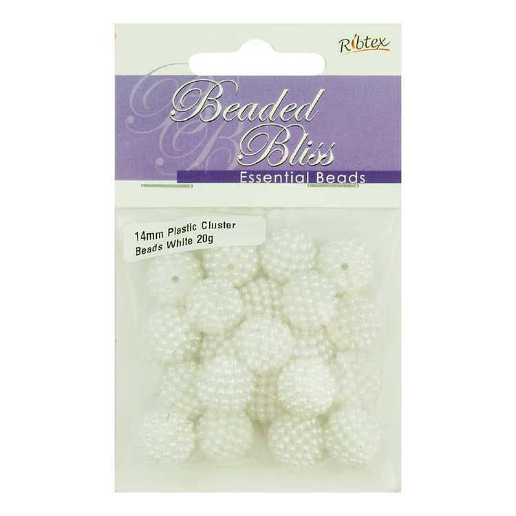 Ribtex Beaded Bliss Plastic Bead Cluster