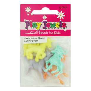 Play Jewels Plastic Unicorn Charms
