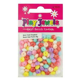 Play Jewels Faceted Doughnut Beads Pack