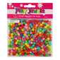 Play Jewels Plastic Tubes Beads Value Pack Bright 7 mm