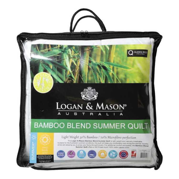 Logan & Mason Bamboo Blend Summer Quilt