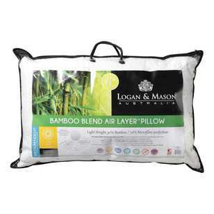 Logan & Mason Bamboo Blend Air Layer Pillow
