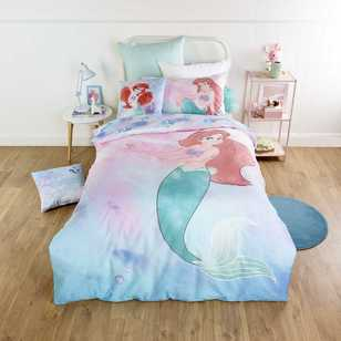 Disney Ariel Little Mermaid Quilt Cover Set