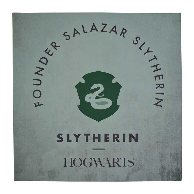 Harry Potter Slytherin Wall Canvas