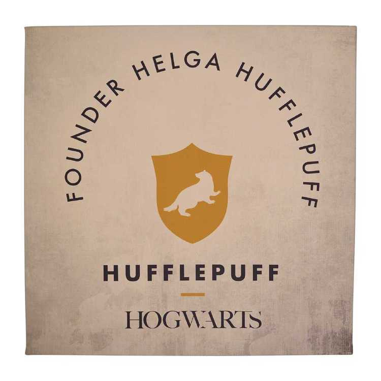 Harry Potter Hufflepuff Wall Canvas